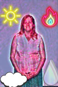 Heidi mit den 4 Elementen