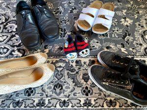 Familienstellen ! Schuhe von Familie